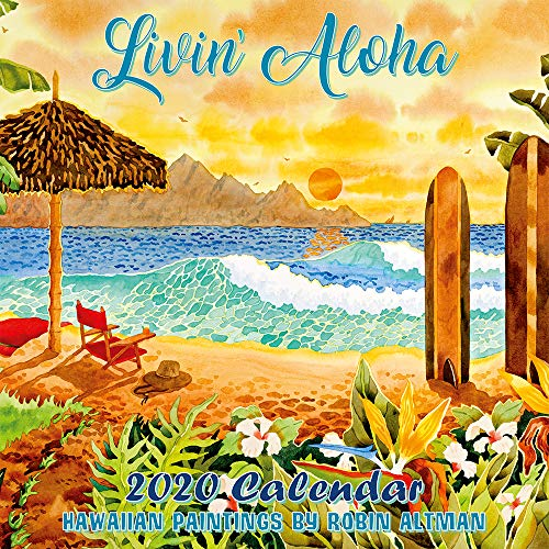 Hawaii Calendar 2020 Pacifica Island Art – 2020 Wall Calendar – Livin' Aloha Hawaii by